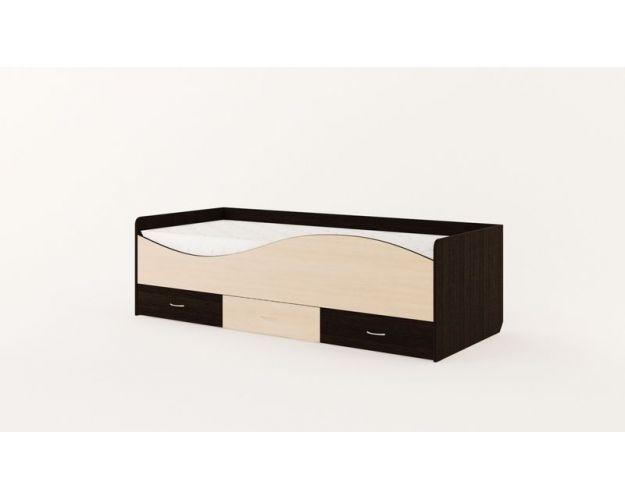 Кровать детская с ящиками «Волна»