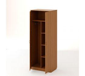 Шкаф распашной 2-х створчатый №2 (Бук темный)