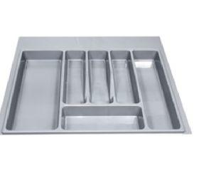 Вкладыш на 600мм для кухонных принадлежностей, серый металлик, ECO/25
