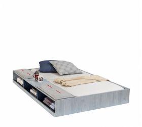 TRIO Кровать односпальная выдвижная с полками