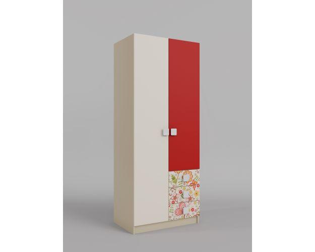 Шкаф 2-х створчатый с ящиками Ретвит