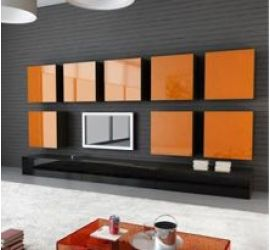 Модульные гостиные и стенки