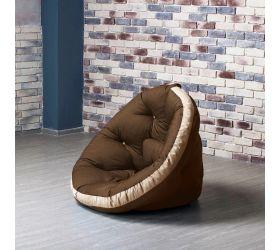 Кресло ОУСТЕР (Комбо коричнево-беж.)