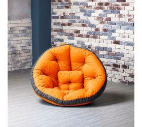 Кресло ОУСТЕР (Комбо оранжево-сер.)