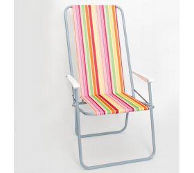 Кресло складное Стандарт с выс спинкой