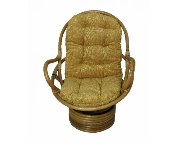 SWIVEL ROCKER кресло-качалка, ротанг №4
