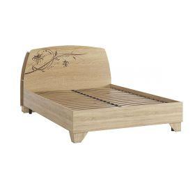 Виктория-1 Кровать 1.4 дуб сонома