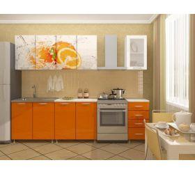 Кухонный гарнитур Апельсин (2,0 м)