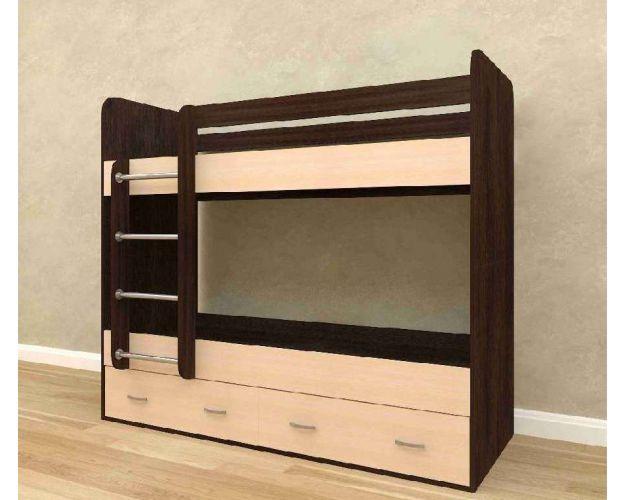 Кровать 2-х ярусная (с ящиками)