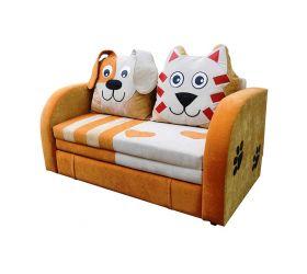 Детский диван Кот и пес