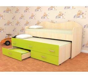 Детская двухместная кровать Нимфа