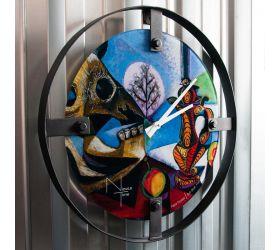 Часы настенные NT153 PICASSO LOFT