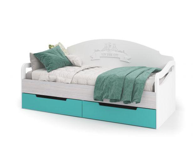 Кровать с ящиками 1800*800 МИА КР 051