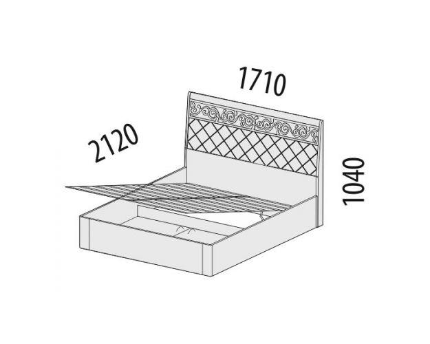 Кровать с подъемным механизмом Тиффани 93.21