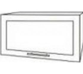Монако ВПГС 500 шкаф верхний горизонтальный стекло