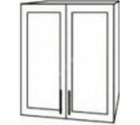Монако ВПС 600 шкаф верхний стекло