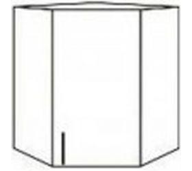 Монако ВПУ 550 шкаф верхний угловой