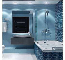 Интерьерные решения ванной комнаты
