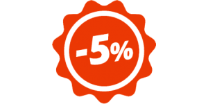 Многодетным семьям - скидка 5% на все товары!