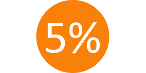 Молодоженам - скидка 5% на все товары!